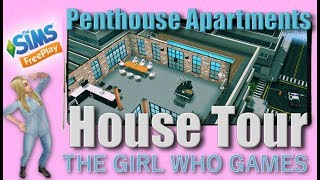 The Sims Freeplay- House Tour: Penthouse Apartments
