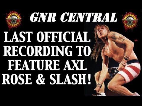 Guns N' Roses  The Last Song Axl Rose and Slash Recording