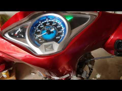 Xe Future 125 FI Làm máy xong mất garanti