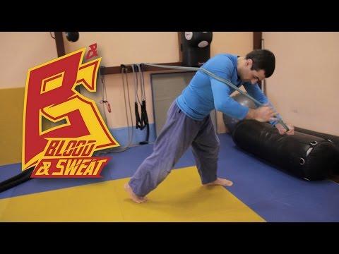 Японские упражнения с валиком (похудение, осанка