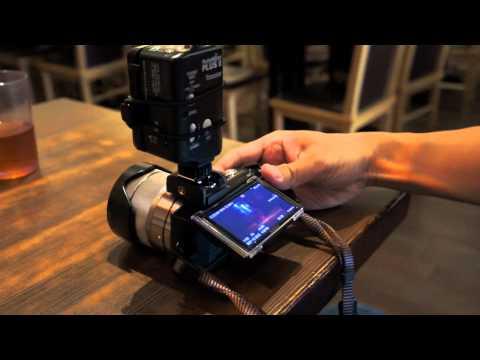 Shadow NEX hotshoe adapter working with Pocket Wizard.
