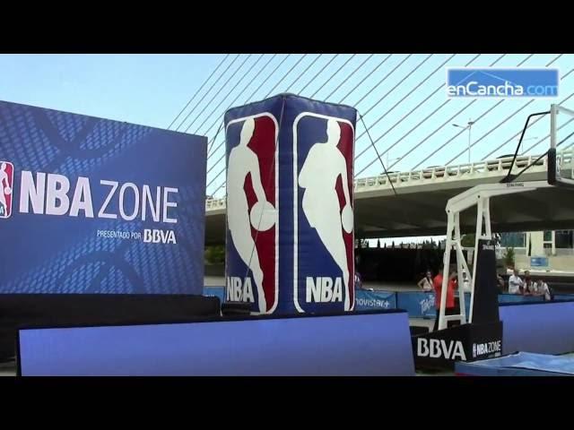 La NBA Zone en la Ciudad de las Ciencias de Valencia