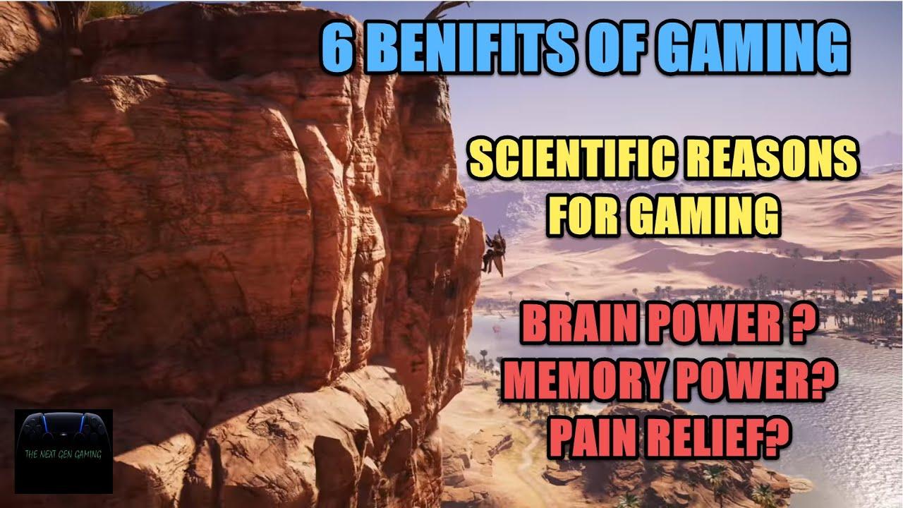 Benefits of Gaming II Scientific Reasons for Gaming II Keep Gaming II Hindi II