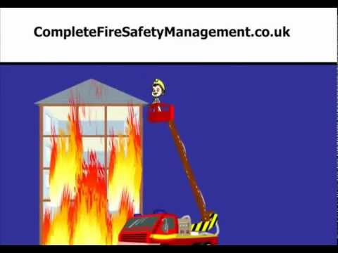 Precautions at the fire accident
