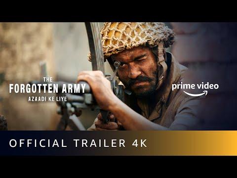 The Forgotten Army Azaadi Ke Liye - Official Trailer 2020 | Kabir Khan | Sunny Kaushal, Sharvari |4K