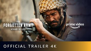 The Forgotten Army Azaadi Ke Liye - Official Trailer 2020 | Kabir Khan | Sunny Kaushal, Sharvari |4K