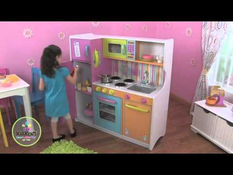 Cocina de juguete kidkraft cocina de juguete grande de for Cocina de juguete