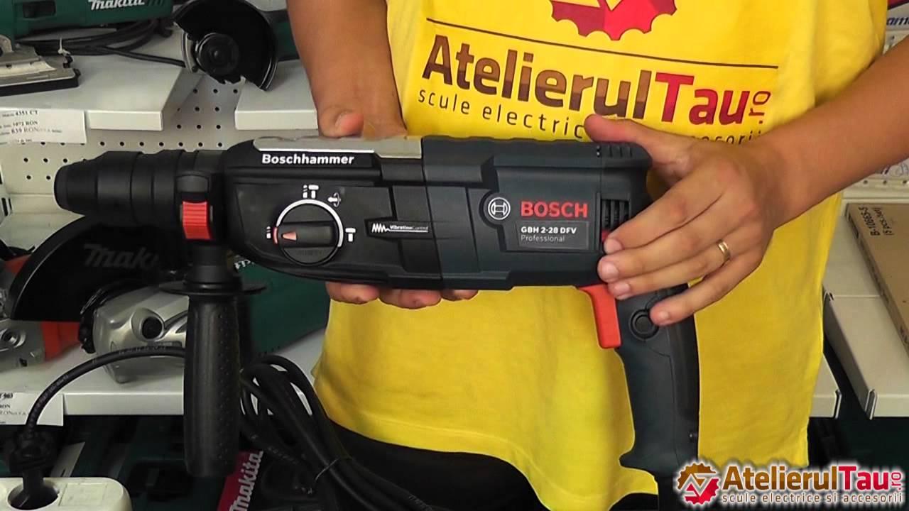 Rotopercutor SDS Plus Bosch GBH 2-28 DFV - AtelierulTau.ro - WunderHaff -  YouTube