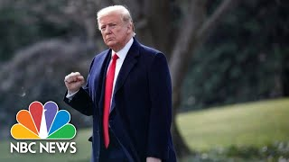 Donald Trump Speaks To Reporters Outside White House | NBC News (Live Stream Recording)