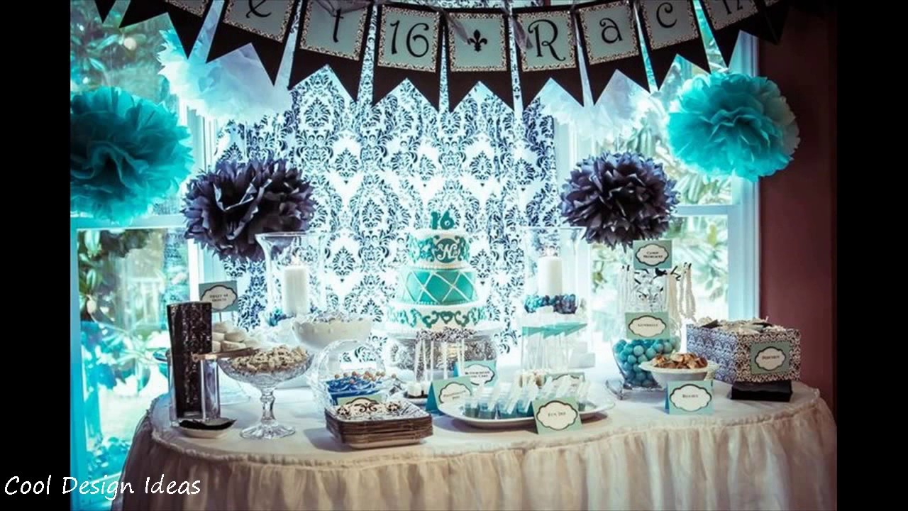DIY Sweet 16 Party Decorations Ideas : sweet 16 party decoration ideas - www.pureclipart.com