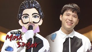 Woo Hyun (Infinite) Made His Finger Heart Famous! [The King of Mask Singer Ep 162]