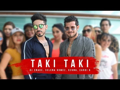 Taki Taki - DJ Snake Ft Selena Gomez, Ozuna, Cardi B By Cesar James Y Augusto Buccafusco Zumba