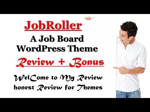 JobRoller A job board WordPress theme Review and Bonus