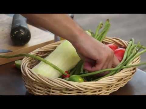 Фаранг Карри #6 Как приготовить салат из зеленой папайи Сом Там (Som Tam)