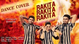 Rakita Rakita Rakita   Dance Cover   Jagame Thandhiram   Dhanush   Koushik Choreography