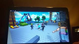 Playing roblox with chessemonster563 (natural disasters)