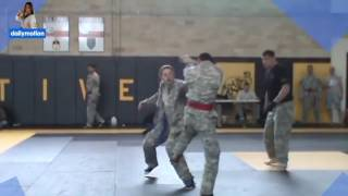 Martial Arts Girls Amazing Army Girl Fights Male 1vs1 During Army Tournament 720HD