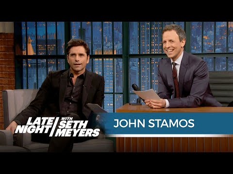 John Stamos Reads Negative Fuller House Reviews