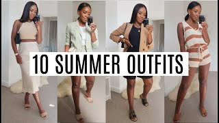 10 SUMMER OUTFITS | ZARA H&M ETC...