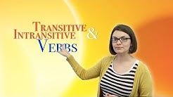 Transitive and Intransitive Verbs | English Language: Grammar