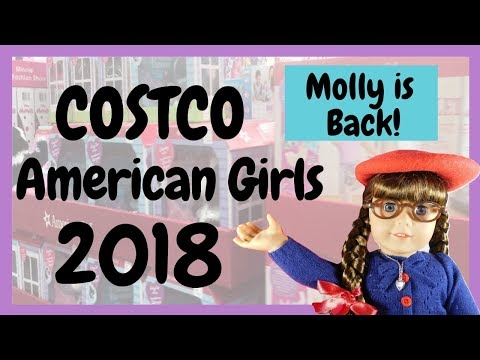 AMERICAN GIRLS AT COSTCO 2018: Molly McIntire Is Back!! Adult Collector