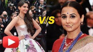 Cannes Film Festival 2013 Day 2 - Sonam Kapoor vs Vidya Balan