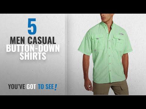 Columbia Casual Button-Down Shirts [ Winter 2018 ]: Columbia Men's Bahama II Short Sleeve Shirt, Key