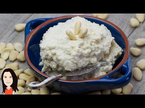 Make Your Own Almond Vegan Cream Cheese - Dairy Free Ricotta Style Vegan Recipe!