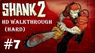 'Shank 2', HD walkthrough (Hard), Chapter 7 - 'The Last Resort' + boss fight (Doctor)
