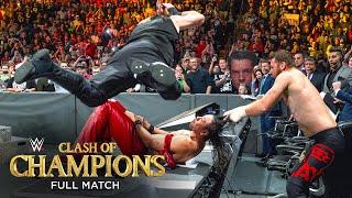 FULL MATCH - Randy Orton \u0026 Shinsuke Nakamura vs. Kevin Owens \u0026 Sami Zayn: Clash of Champions 2017