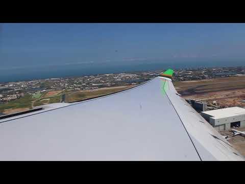 Flight from TPE to JKT [EVA AIR flight BR237] {2017/8/20} Emirates A380 in EVA Air plane hangar