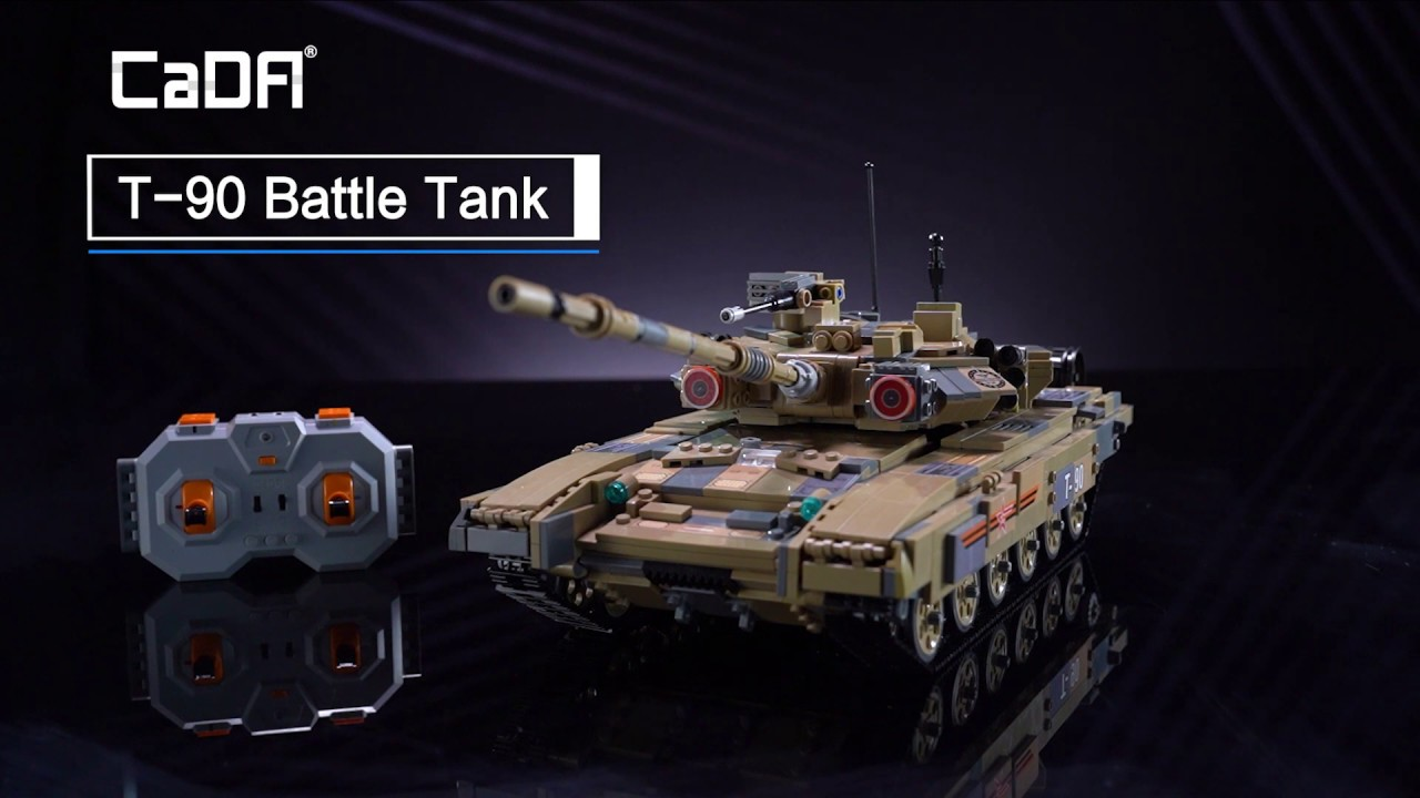 Cada Bricks C61003w Tank T90 Cada Official Doublee Cada