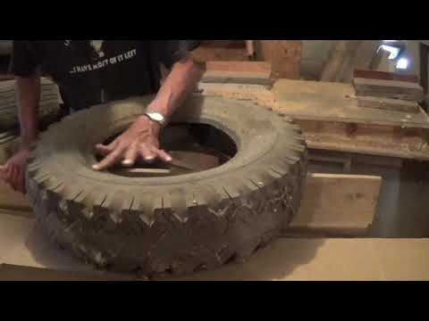 Finding A Tire For The Old Digger