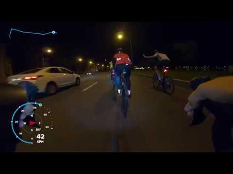 50км на шоссейном велосипеде по Санкт-Петербургу