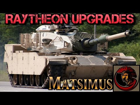 M60 Main Battle Tank- Raytheon Upgrades M60A3
