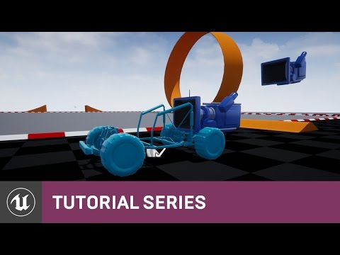 BP Time Attack Racer: Project Creation & Prep Work | 02 | v4.8 Tutorial Series | Unreal Engine