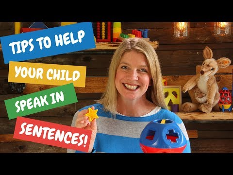 Speech Therapy Tips to Help Your Child Speak in Sentences!