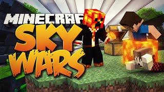 Minecraft TEAM SKYWARS #20 'LAVA KILLING SPREE!' w/PrestonPlayz & BajanCanadian