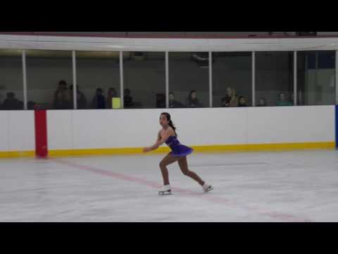 Naomi at Upper Canada Skating Club Showcase 2017