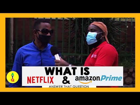 What is Netflix & Amazon Prime  | Answer that Question (ATQ) | Funny African Videos | Funny Videos