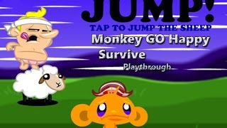 Monkey GO Happy Survive - Walkthrough