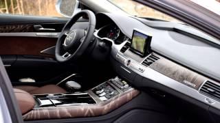 2015 Audi A8 L TDI Quattro Video Test Drive(Autos.ca video test drive of the 2015 Audi A8 L TDI Quattro, presented by Justin Pritchard., 2015-02-13T03:00:10.000Z)