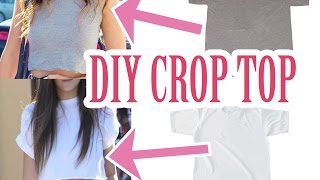 DIY Crop top (Inspirado en Kylie jenner)