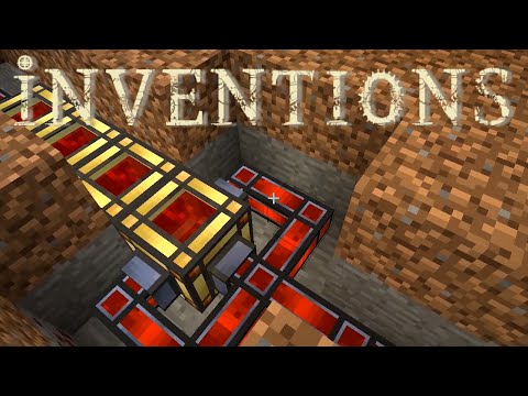 Minecraft Mods FTB Inventions - STARTER POWER STORAGE [E09]