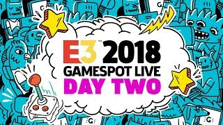E3 2018 Exclusive Gameplay Demos, Interviews and Special Guests - GameSpot Stage Show Day 2 thumbnail
