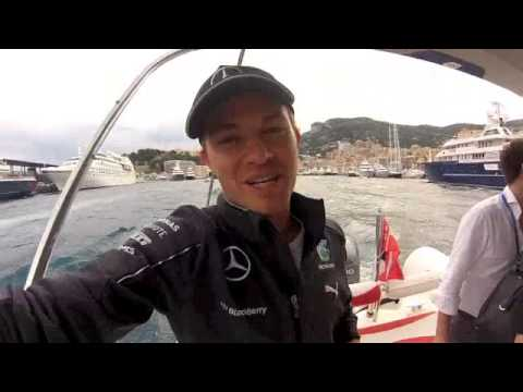 Nico Rosberg: video message after winning Monaco 2014