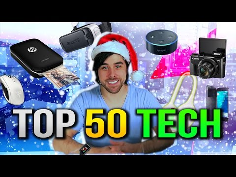 Top 50 Best Tech Gadgets to Buy for the Holidays 2016!