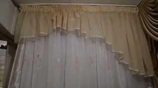 Классический ламбрекен Мария. 4810. Материал шифон. Ламбрекен в гостиную. Ламбрекены в Украинке.(http://rodus.com.ua/ http://rodus.com.ua/shtory-i-lambrikeny/4410/lambreken-klassicheskiy-mariya-detail.html Салон-магазин штор, гардин и ламбрекенов ..., 2015-01-21T14:28:04.000Z)