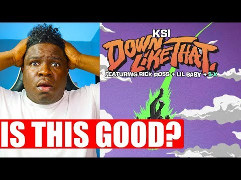 FIRST TIME HEARING – KSI – Down Like That (feat. Rick Ross, Lil Baby & S-X) REACTION