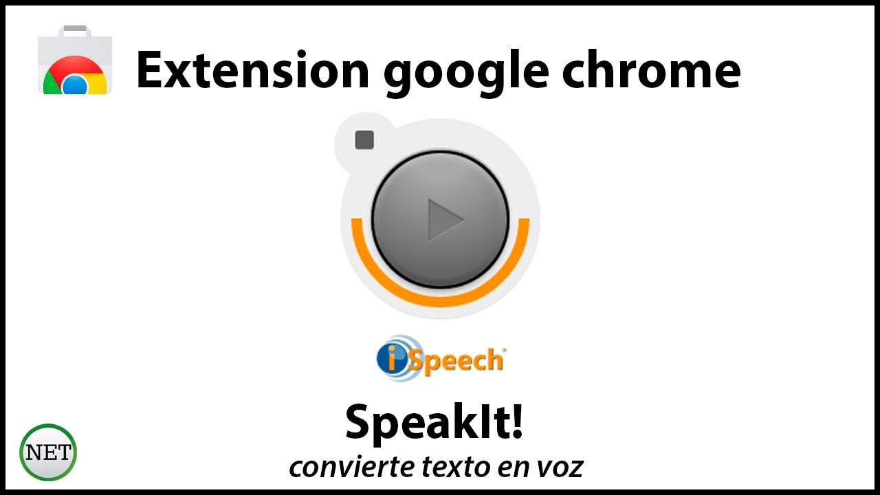 speakit chrome